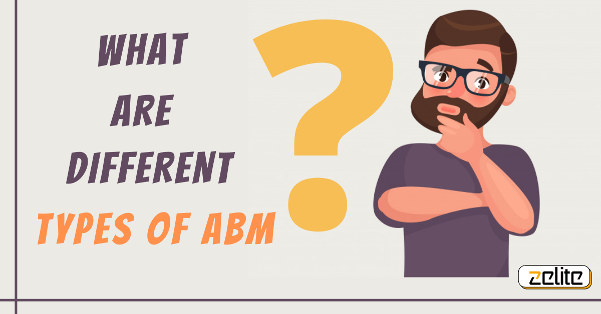 What are different types of ABM