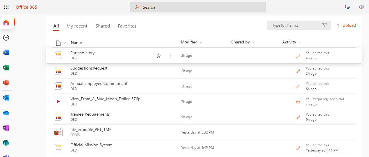 File Management With SharePoint – Office 365 – 2